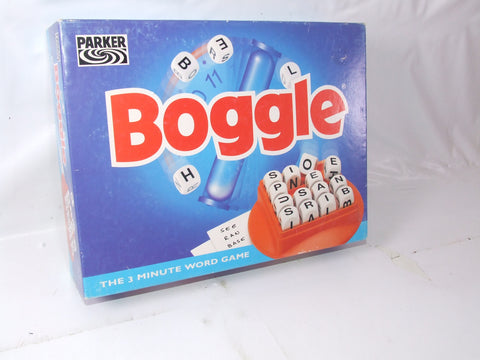 Boggle The 3 Minute Word Game