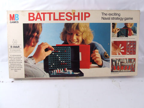 Battleship Game By MB Games Boxed & Complete