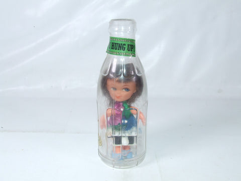 "Doll In A bottle "" I'm Hung Up "" Vintage"