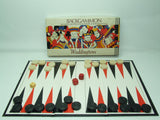 Waddingtons Backgammon Game Boxed Vintage 1975