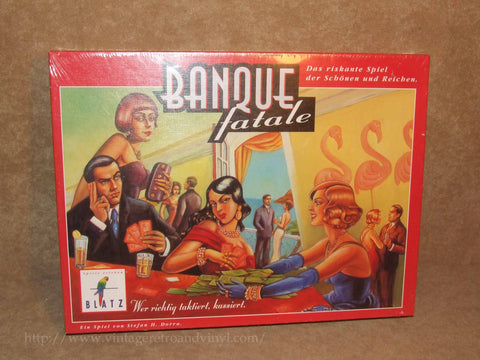Banque Fatale - Brand New & Sealed - German - Vintage 1990's - Vintage Retro And Vinyl - 1