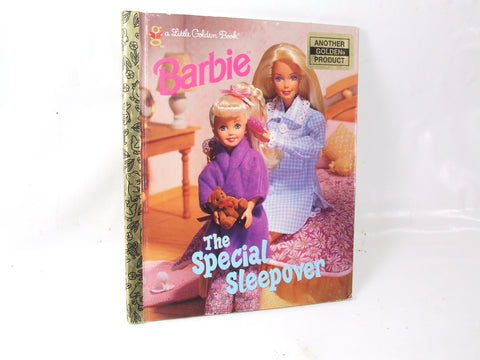 Barbie the Special Sleepover A little Golden Book 1st Edition 1997