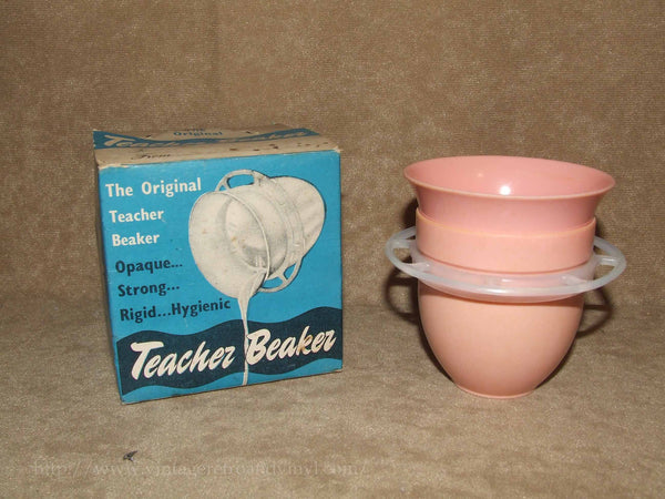 Teacher Beaker - Boxed - J L Caplin - Made In England - Vintage Retro And Vinyl - 1