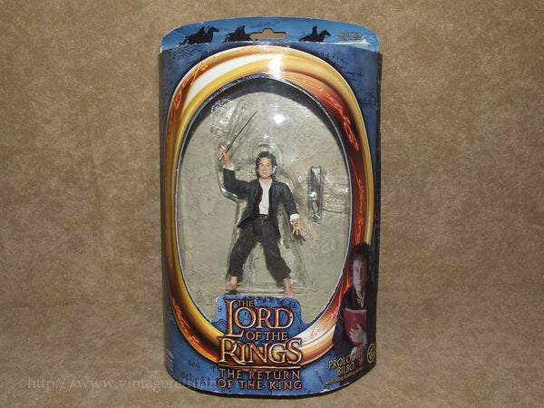 Lord Of The Rings Prologue Bilbo Action Figure - Opened - Vintage Retro And Vinyl - 1