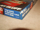 Call My Bluff Game - Mind Movers - Contents Sealed - Made In England - Vintage - Vintage Retro And Vinyl - 7
