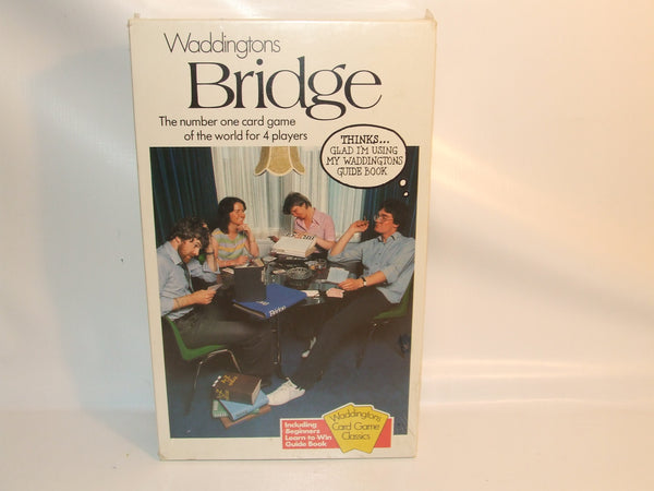 Waddingtons Bridge Card Game New And Sealed Including Guide Book Vintage