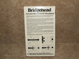 Bridgehead - Gamecraft Pocket War Games - 1980 - Vintage Retro And Vinyl - 7