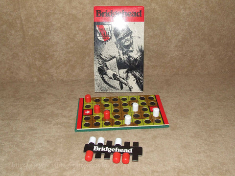 Bridgehead - Gamecraft Pocket War Games - 1980 - Vintage Retro And Vinyl - 1