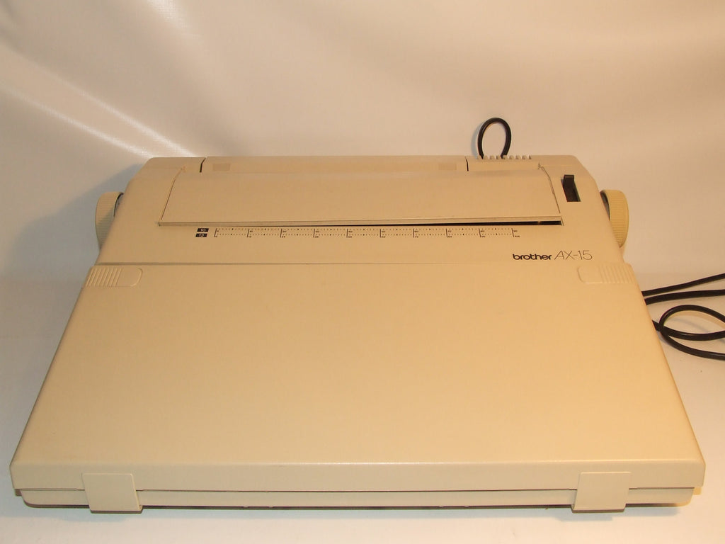 Brother AX-15 Electric Typewriter In Working Order