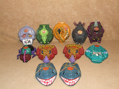 Mighty Max Doom Zone Bundle Of 11 Playsets Spares or Repairs - Vintage Retro And Vinyl - 1