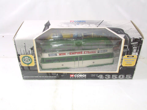 Corgi Classics Blackpool Balloon Tram Post War In Empire Pools Livery