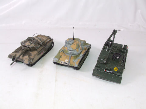 Corgi Toys Tanks WWII With Recovery Tank