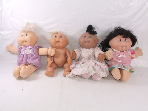 Vintage Cabbage Patch Dolls Incl Mattel First Edition