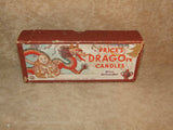 Prices Dragon Candles - Prices Art Candles - Boxed - Vintage - Vintage Retro And Vinyl - 7