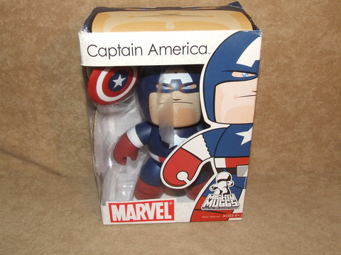 Marvel Mighty Muggs Captain America BNIB 2007 - Vintage Retro And Vinyl - 1