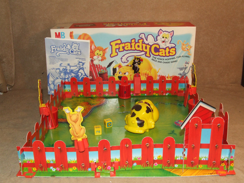 Fraidy Cats Family Game Boxed And Complete MB Games