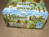 Highland Clans - Queens Games - Unplayed - Contents Sealed/Un-Punched - Vintage Retro And Vinyl - 9