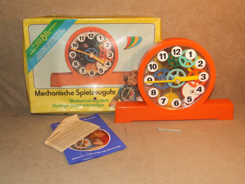 Prefo Mechanical Clock Effect Nr Complete And Boxed Made in GDR - Vintage Retro And Vinyl - 1