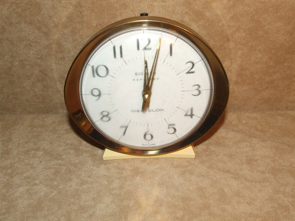Westclox Big Ben Repeater Vintage Alarm Clock Made In Scotland - Vintage Retro And Vinyl - 1