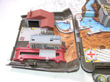 Micro Machines Military Combat Carrier Boxed With Instructions & Vehicles Galoob Army Super Van City