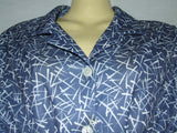 Ladies Dress Blue And White By Compliments Size 18 Vintage - Vintage Retro And Vinyl - 2