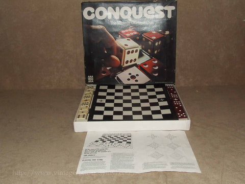 Conquest Game By Denys Fisher - Boxed & Complete - 1975 - Vintage Retro And Vinyl - 1