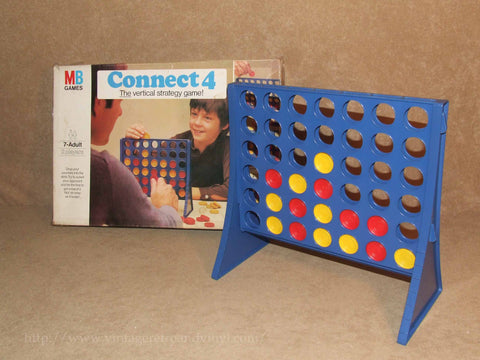 Connect 4 - MB Games - Boxed & Complete - Vintage 1970's - Vintage Retro And Vinyl - 1