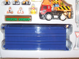 Road Rail Construction Starter Set Chad Valley New And Boxed Battery Operated
