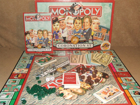 Coronation Street Monopoly 40 Years 1960 to 2000 Boxed And Complete - Vintage Retro And Vinyl - 1
