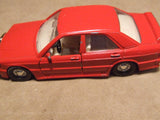 2 x Corgi Red Mercedes Benz Diecast Models 300SL & 190E - Vintage Retro And Vinyl - 11