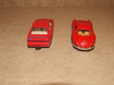2 x Corgi Red Mercedes Benz Diecast Models 300SL & 190E - Vintage Retro And Vinyl - 3