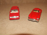 2 x Corgi Red Mercedes Benz Diecast Models 300SL & 190E - Vintage Retro And Vinyl - 4