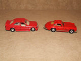 2 x Corgi Red Mercedes Benz Diecast Models 300SL & 190E - Vintage Retro And Vinyl - 5