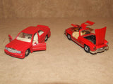 2 x Corgi Red Mercedes Benz Diecast Models 300SL & 190E - Vintage Retro And Vinyl - 6