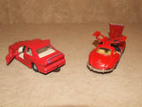 2 x Corgi Red Mercedes Benz Diecast Models 300SL & 190E - Vintage Retro And Vinyl - 7