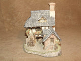 Coopers Cottage - David Winter - Hand Made & Painted - Vintage Ornament 1985 - Vintage Retro And Vinyl - 2
