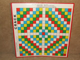Crack Game By Peter Pan Playthings Boxed And Complete Word Game Vintage 1969