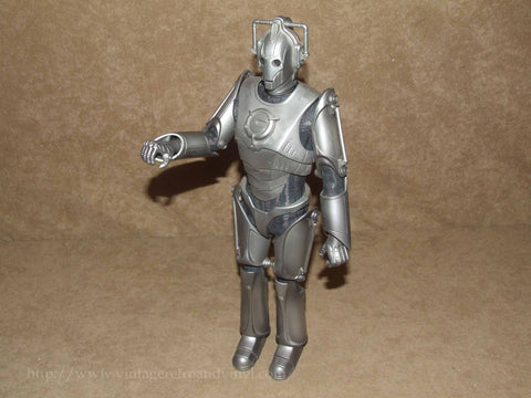 "Doctor Who 12"" Poseable Cyberman Figure 2006 - Vintage Retro And Vinyl - 1"