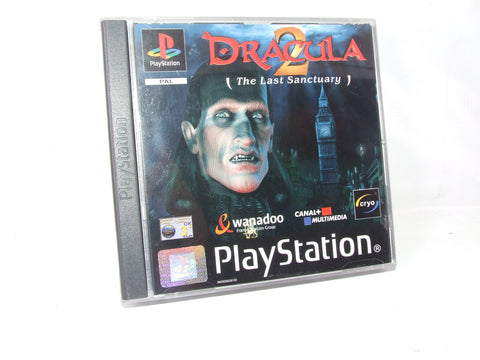 Dracula 2 (The Last Sanctuary) Playstation One PS1 Video Game PAL