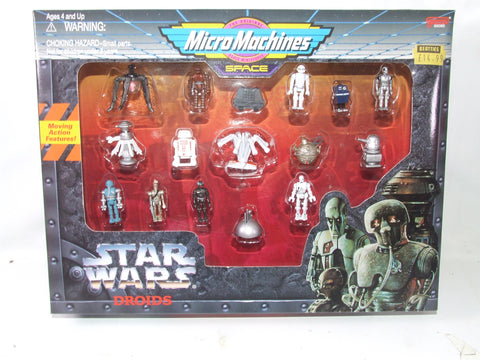 Micro Machines Space Star Wars Droids Moving Action Figures