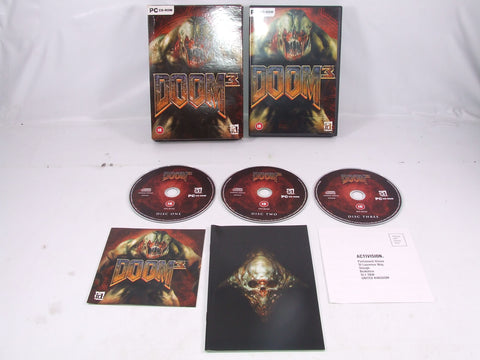 Doom 3 PC CD-ROM Fat Box Version 1st Person Shooter