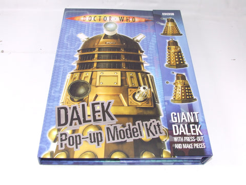 Doctor Who Giant Dalek Pop Up Model Kit New