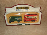 Lledo Days Gone Premier Collection Twin Pack Ambrosia Van And Bisto Bus Boxed - Vintage Retro And Vinyl - 1