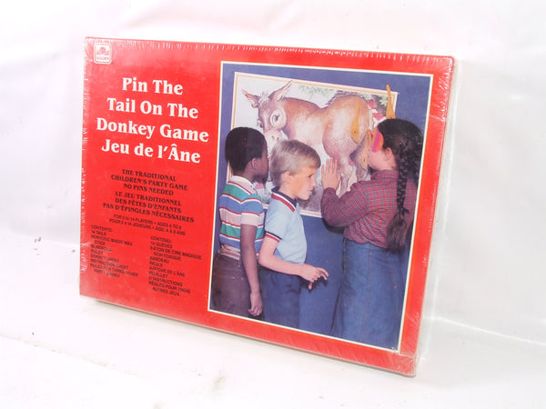 Pin The Tail On The Donkey Game Old Shop Stock Sealed 1981