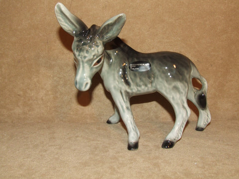Coopercraft Ceramic Donkey Lovely Condition Vintage Circa 1960's - Vintage Retro And Vinyl - 1