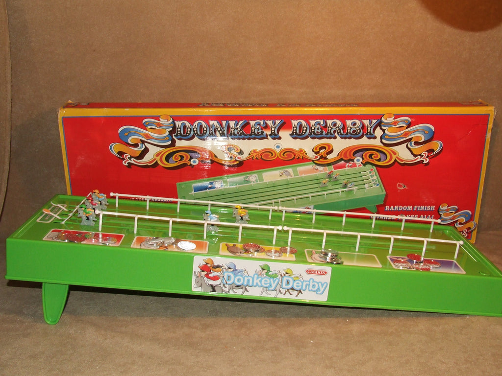 Donkey Derby Game By Casdon Boxed Battery Operated - Vintage Retro And Vinyl - 1
