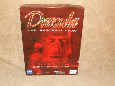 Dracula The Resurrection PC Big Box Game Horror RPG 15+ - Vintage Retro And Vinyl - 1