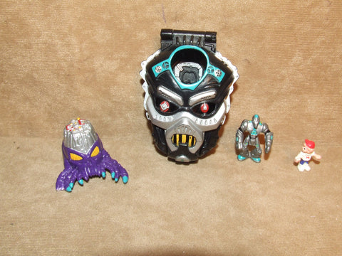 Mighty Max Horror Heads Droid Invader Complete Original Figures Vintage 1992 - Vintage Retro And Vinyl - 1