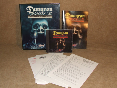 Dungeon Master II Big Box Version With Manual & Reference Card PC DOS Game - Vintage Retro And Vinyl - 1