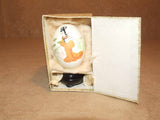 Hand Painted Egg - Japanese - On Stand - Boxed - Vintage - Vintage Retro And Vinyl - 1